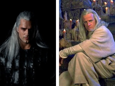 Netflix unveils Henry Cavill's first look in The Witcher; Twitterati draw comparison with Lucius Malfoy, Legolas