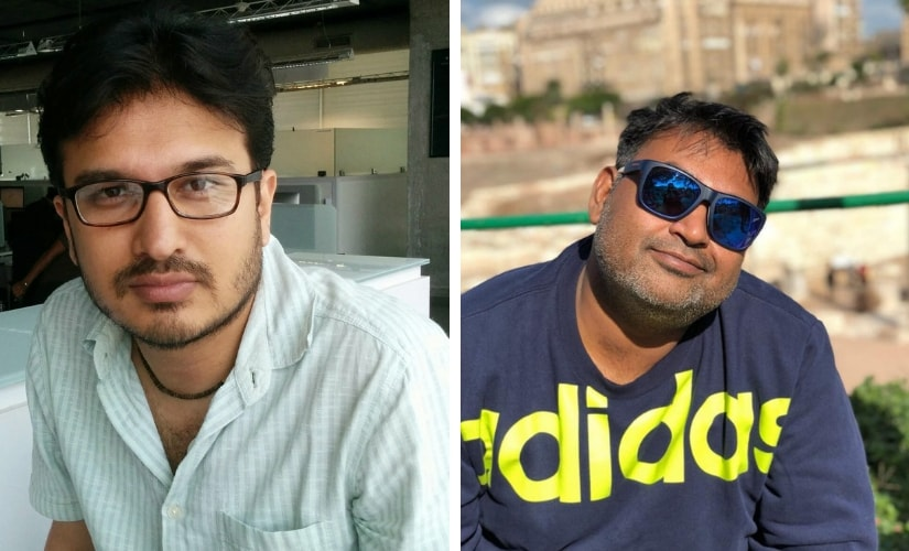 Shantanu Srivastava and Akshat Ghildial, the writers of Badhaai Ho