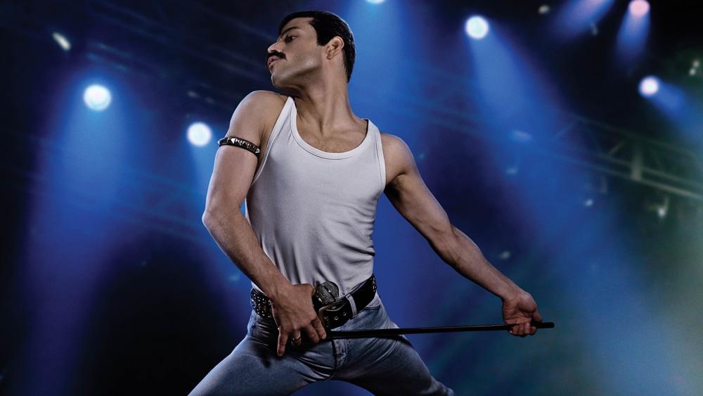 Rami Malek in a still from Bohemian Rhapsody