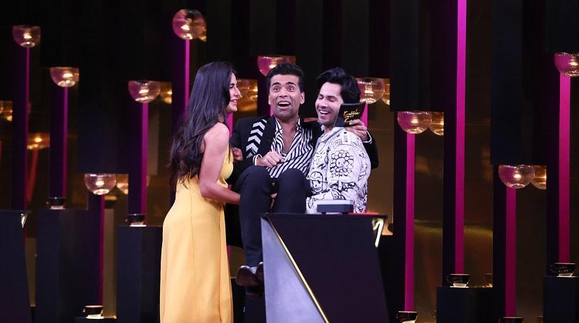 Koffee with Karan season 6: Varun Dhawan wins it all, Katrina Kaif