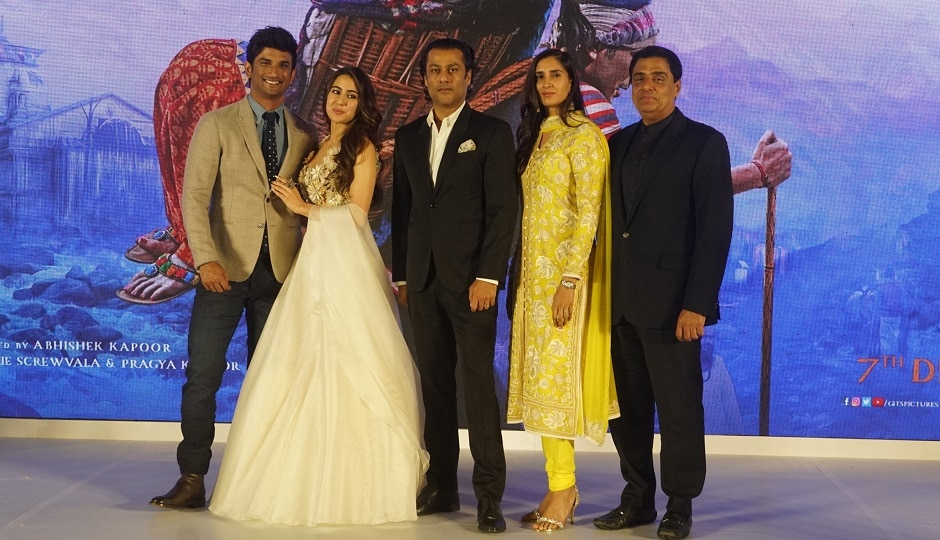 Sushant Singh Rajput, Sara Ali Khan attend trailer launch of their upcoming romantic drama Kedarnath