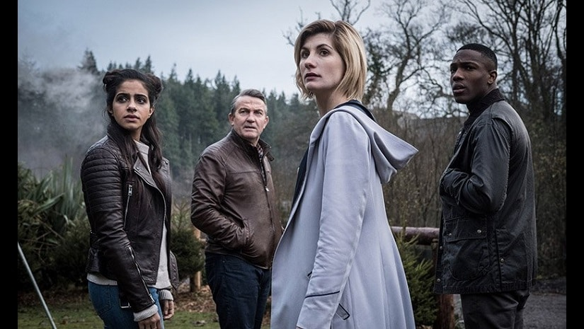 A still from Doctor Who. Image via Twitter
