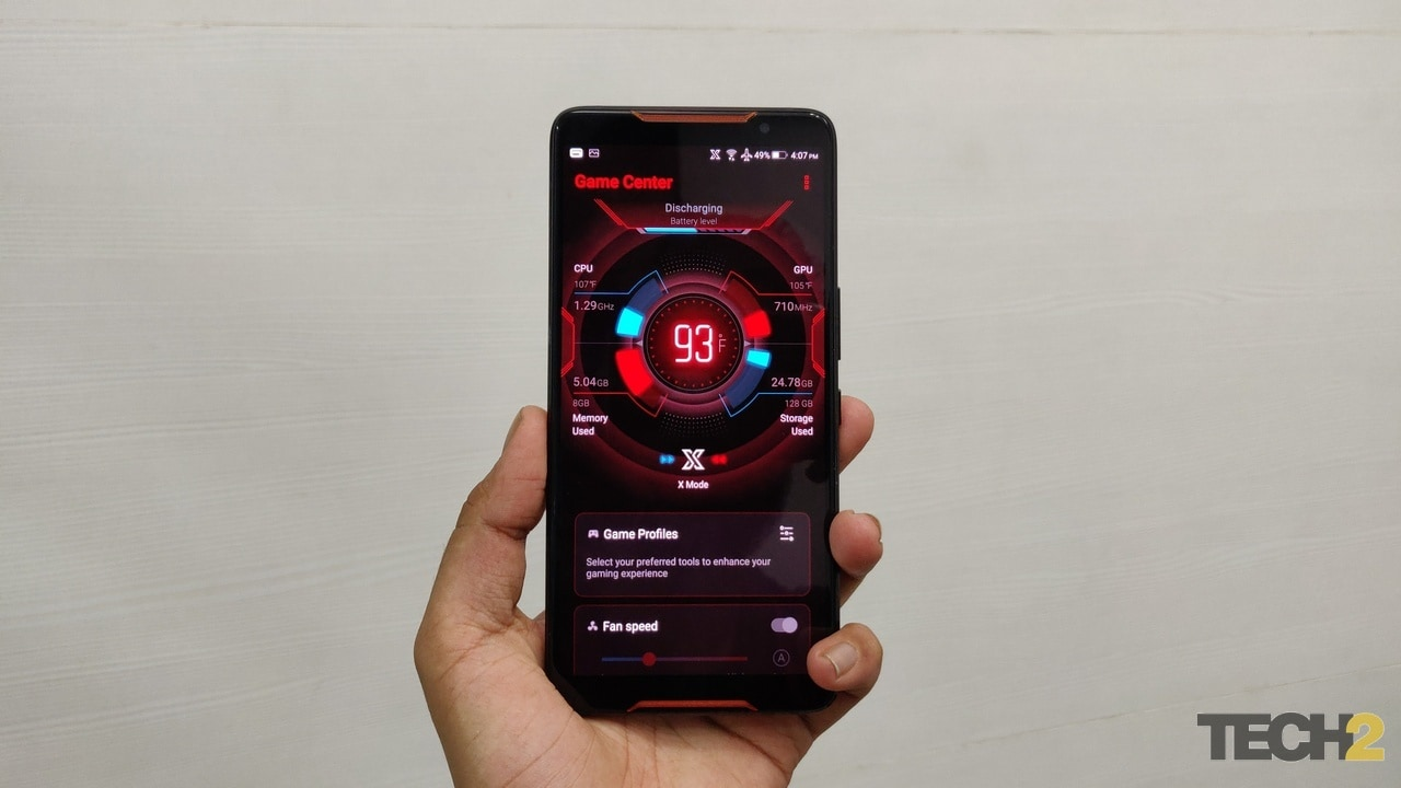 Asus ROG Phone X-Mode. Image credit: tech2/Kshitij Pujari