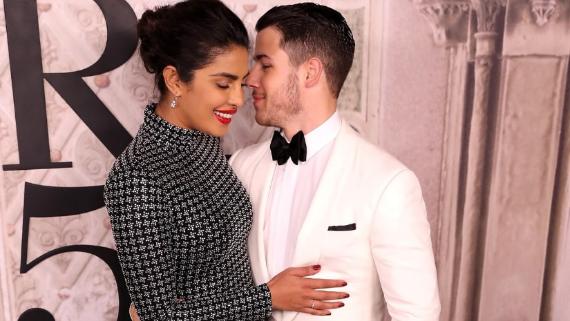 Priyanka Chopra and Nick Jonas. Image from Facebook