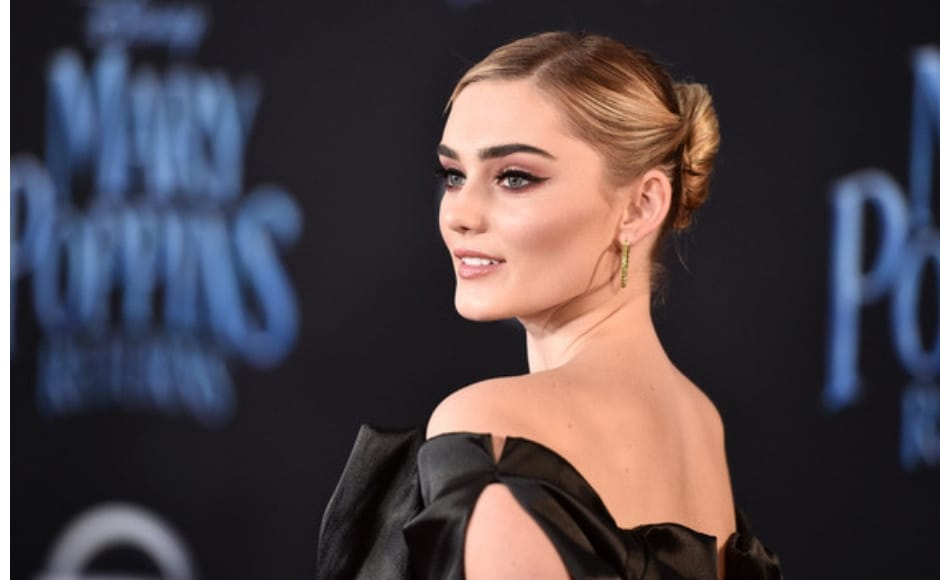 Meg Donnelly attended the New York premiere of Disney's Mary Poppins Returns