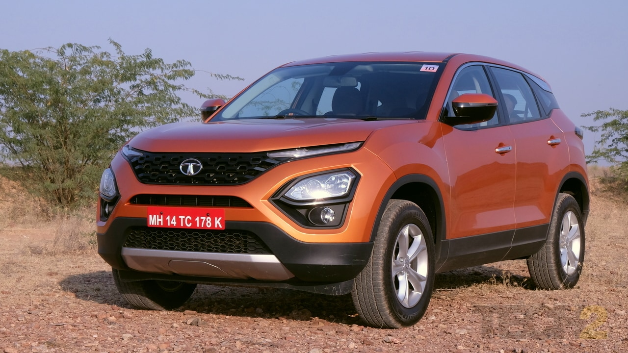 2019 Tata Harrier SUV to launch in India on 23 January; bookings start at Rs 30,000