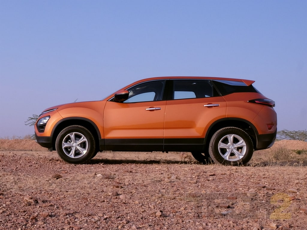 Tata Harrier SUV to be showcased in multiple Indian cities starting 18 December