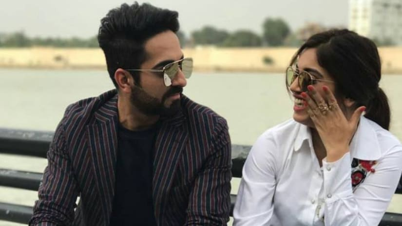 Ayushmann Khurrana and Bhumi Pednekar. Image from Facebook