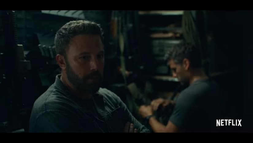 Still from Triple Frontier trailer. YouTube screengrab