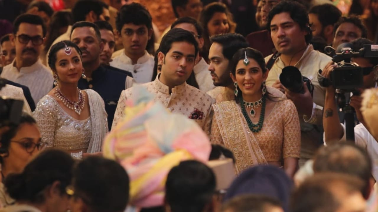 Anant Ambani and Shloka Mehta. Firstpost/Sachin Gokhale
