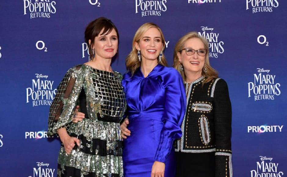 Emily Blunt, Meryl Streep attend European premiere of Mary Poppins Returns