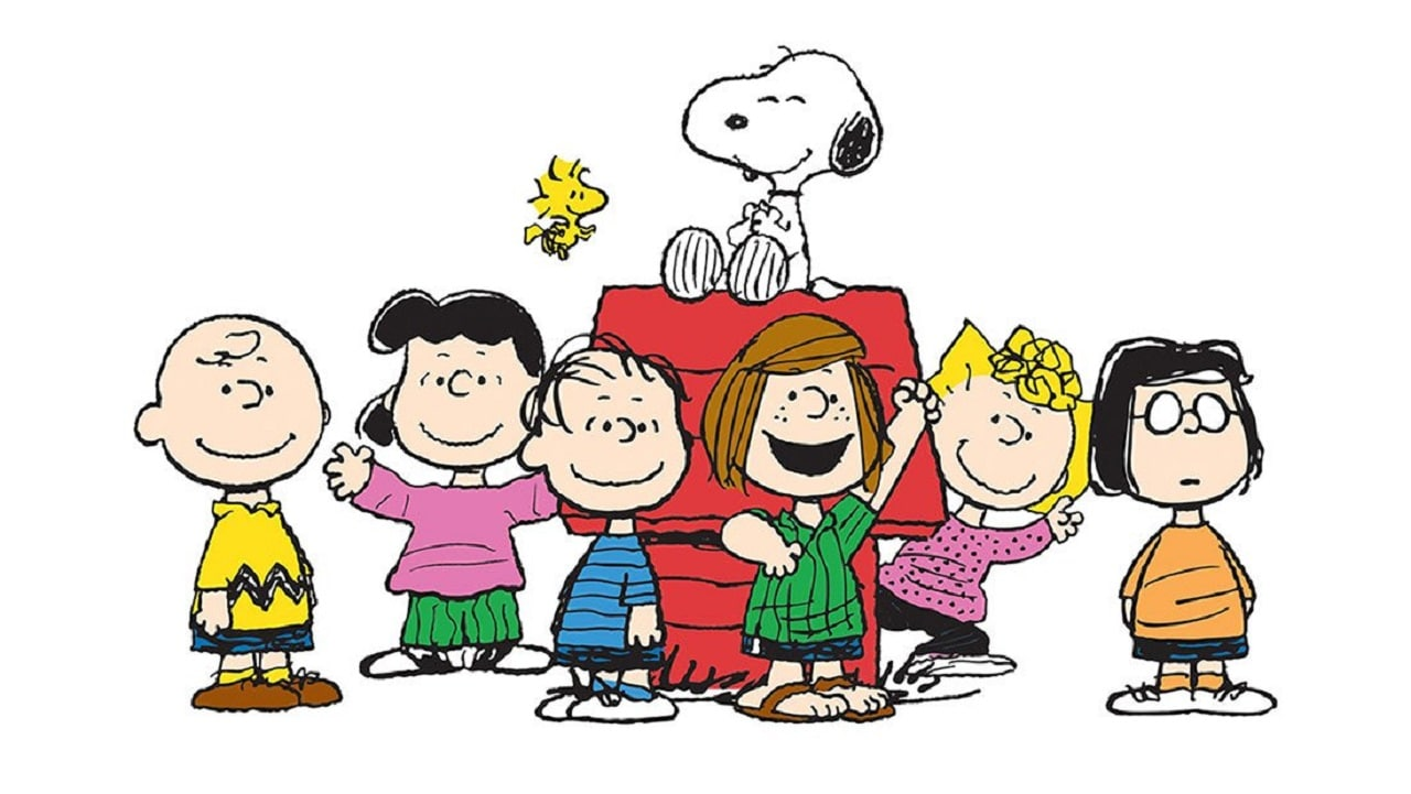 The characters of Peanuts. Twitter/@cartoonbrew