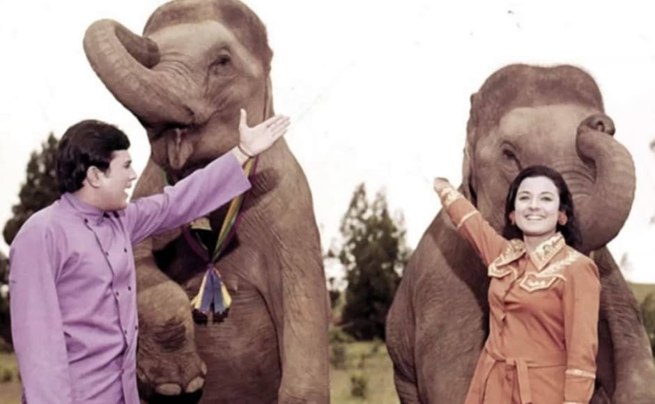 Haathi Mere Saathi was the perfect feel-good film featuring Rajesh Khanna and Tanuja