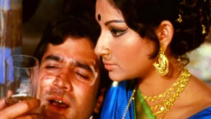 Rajesh Khanna's portrayal of the drunk cynic of sorts in Amar Prem was an instant hit, bolstering his on-screen chemistry with Sharmila Tagore