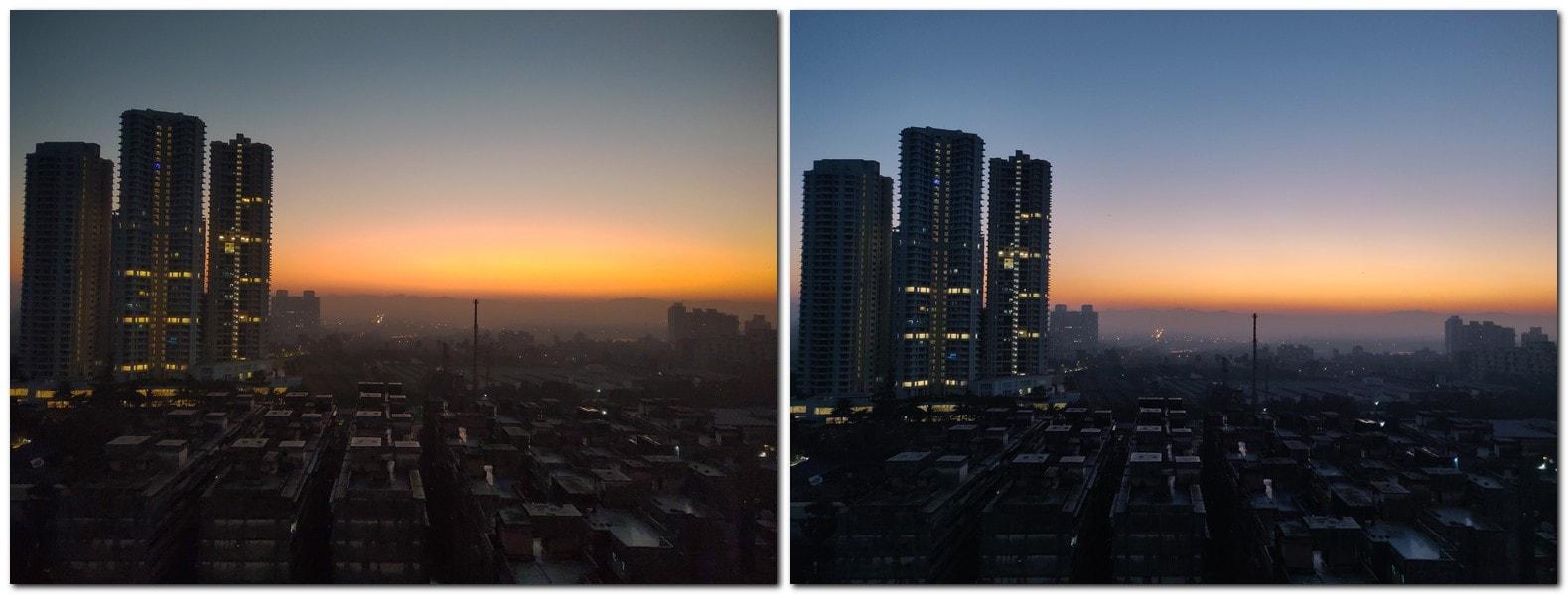 Asus ROG Phone (L) vs OnePlus 6T (R)