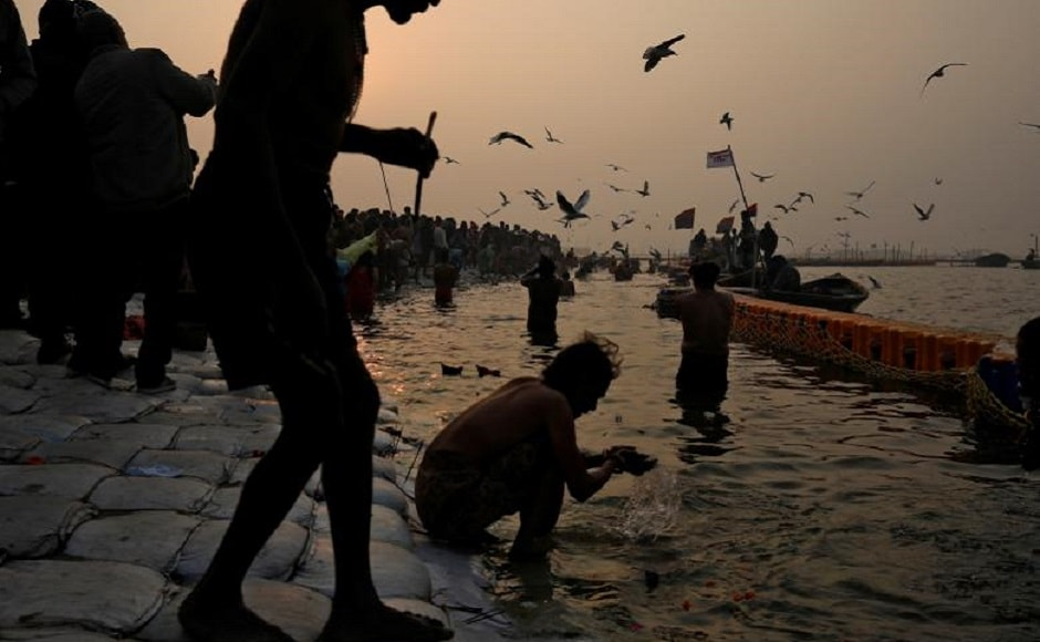 During the eight-week festival in Prayagraj authorities expect up to 150 million people to bathe at the confluence of the Ganges, the Yamuna, and a mythical third river, the Saraswati. Reuters