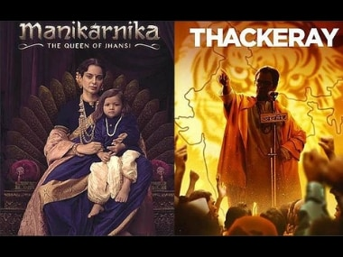 Manikarnika, Thackeray box office collection: Kangana Ranaut film collects Rs 8.75 cr, Nawazuddin-starrer Rs 6 cr on opening day