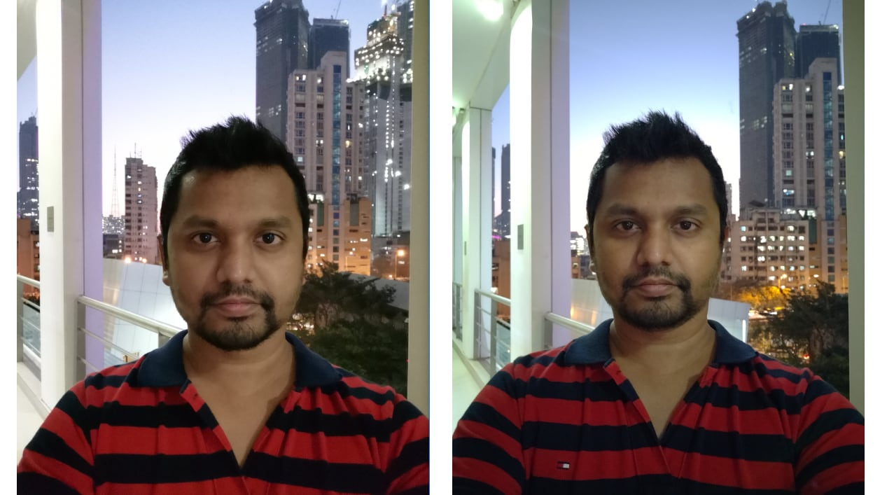 Honor View 20 (L), OnePlus (R): Both View 20 and OnePlus 6T shot decent photos in low light. Image: tech2/Sheldon Pinto