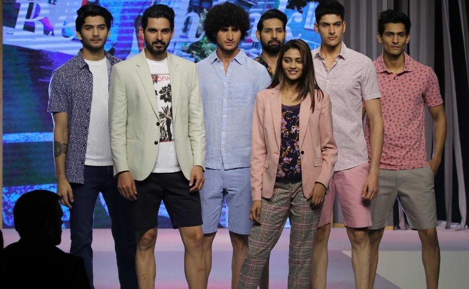 The Marks & Spencer summer collection had lot of light pastel shades. Photo: Sachin Gokhale/Firstpost