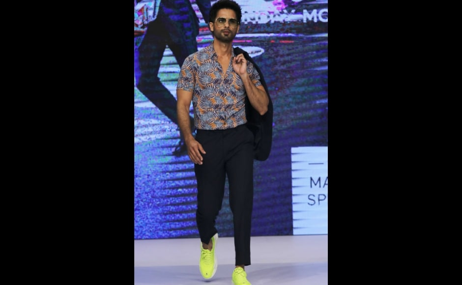 Shahid Kapoor, Vaani showcase Marks & Spencer Spring summer 2019 collection