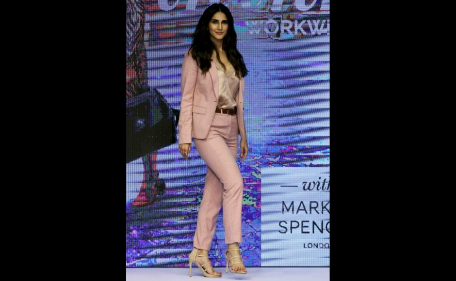 Vaani Kapoor looks uber chic in her Summer avatar with Marks & Spencer's new collection. Photo: Sachin Gokhale/Firstpost