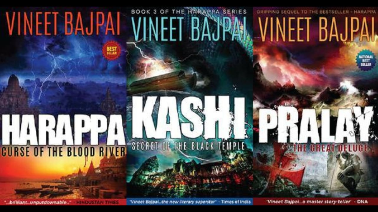 Vineet Bajpai's Harappa trilogy set for screen adaptation; Reliance Entertainment acquires film, webseries rights