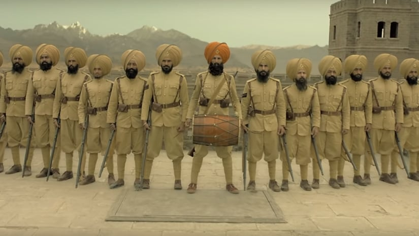 Still from Kesari trailer. YouTube screengrab