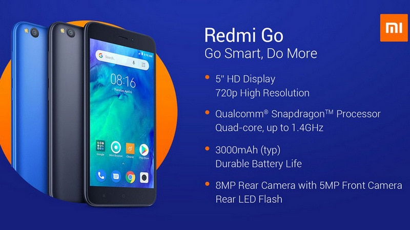 Xiaomi to announce the Redmi Go smartphone in India on 19 March