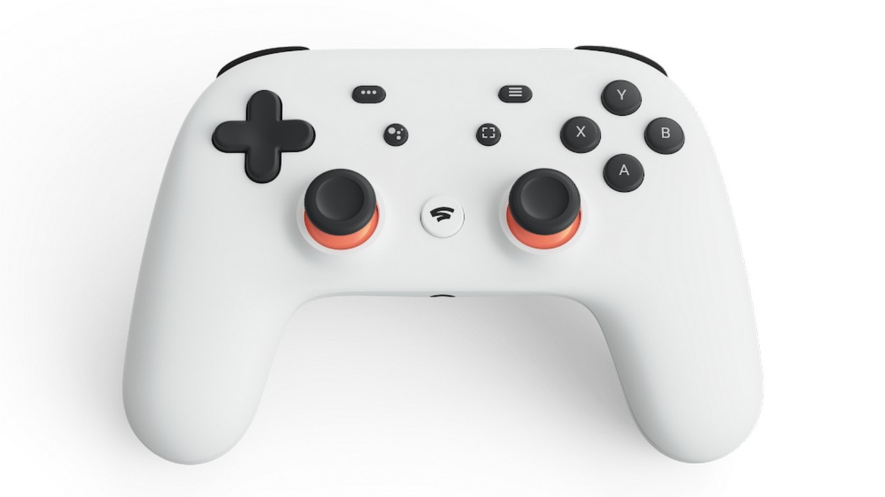 Google's Stadia controller looks to be cross between an Xbox One and PS4 controller.