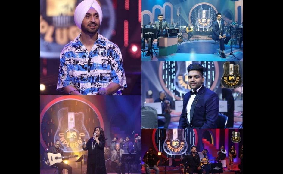Royal Stag Barrel Select's MTV Unplugged S8: Diljit Dosanjh, Guru Randhawa perform in musical recap episode