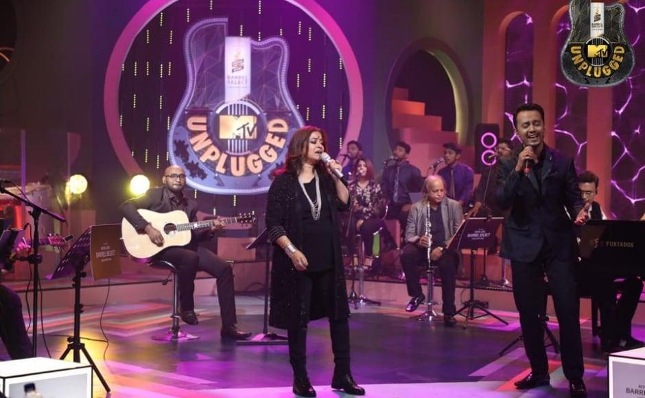 Rekha Bharadwaj's Mileya Mileya performance was chosen for the newest episode of Royal Stag Barrel MTV Unplugged S8
