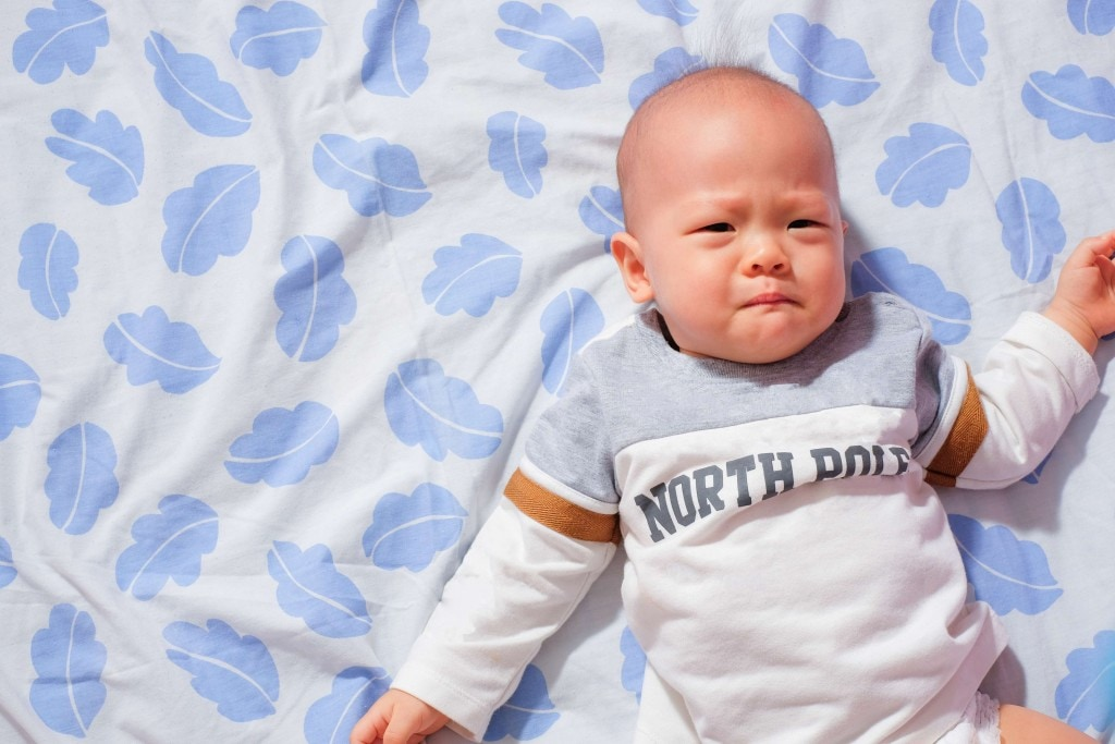 These 5 things that can make a baby grumpy