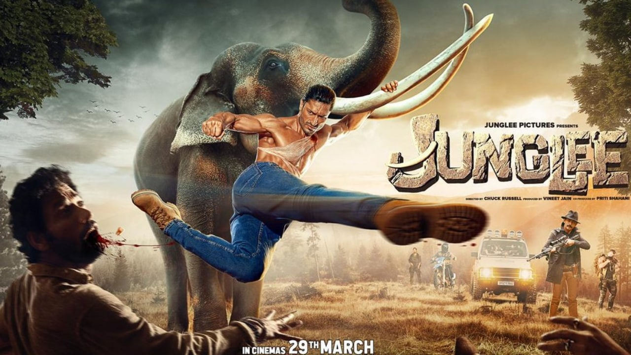 Junglee box office collection: Vidyut Jammwals action-adventure film rakes in Rs 7.70 cr in two days