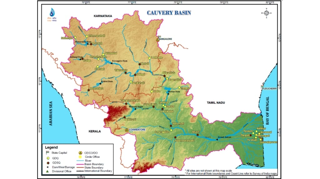 Credit: Water Resources Information System of India.