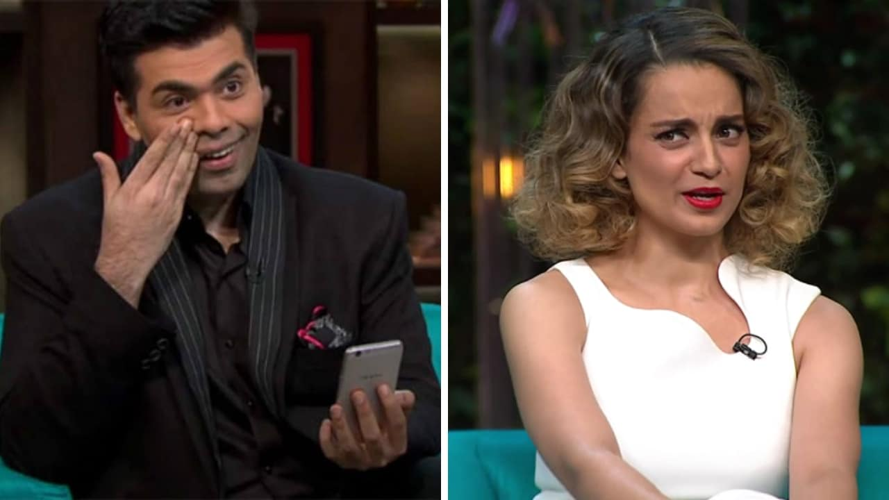 Karan Johar says he would surely direct Kangana Ranaut, dubs her as one of the best actresses we have