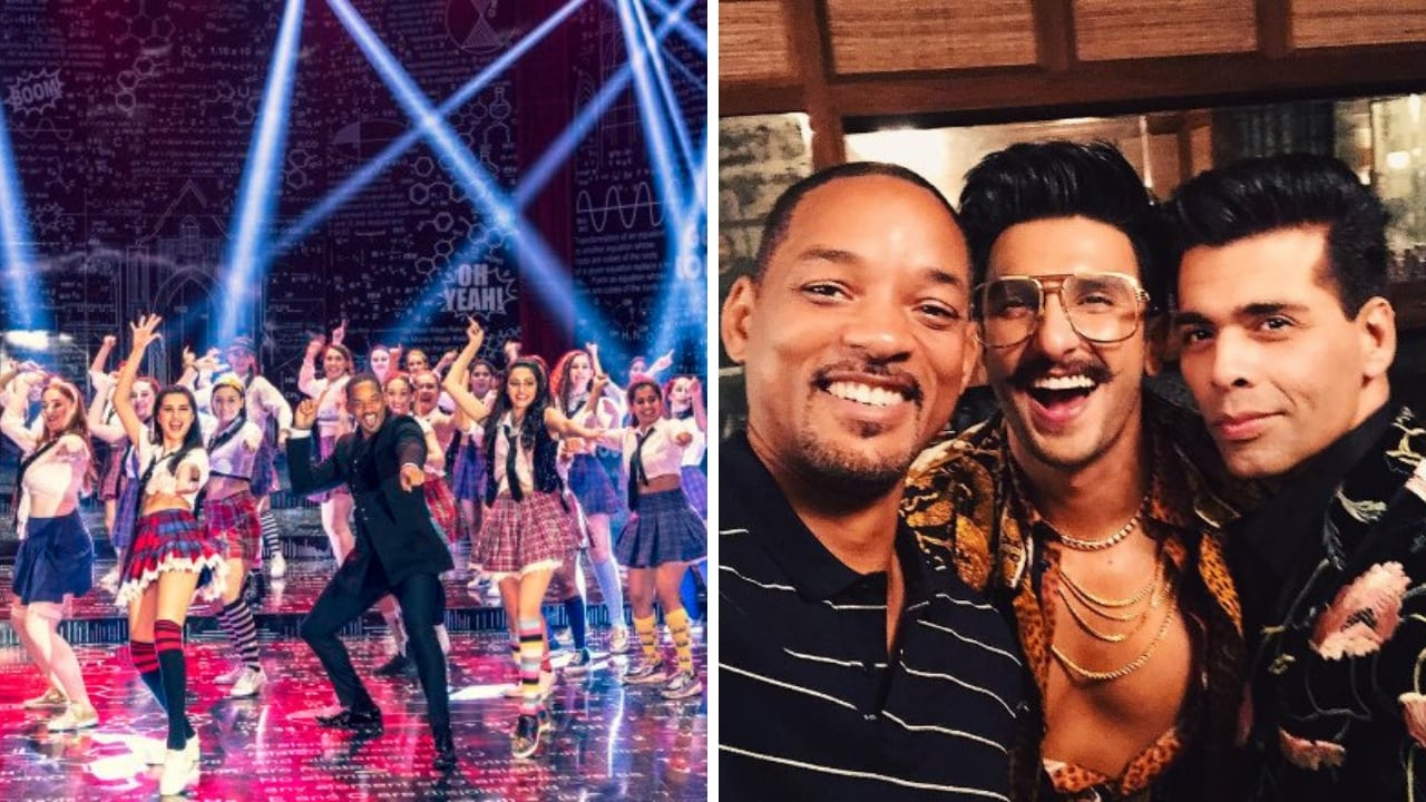 Watch: Will Smith dances with Ranveer Singh, visits Haridwar, grooves to SOTYs Radha on Bucket list