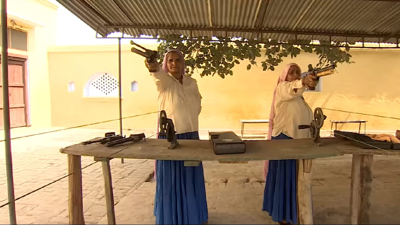 Watch: Saand Ki Aankh stars Bhumi Pednekar, Taapsee Pannu introduce the worlds oldest sharpshooters