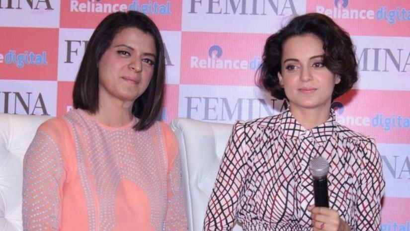 Kangana Ranauts sister Rangoli accuses Mahesh Bhatt of hurling a shoe at actress during Woh Lamhe preview