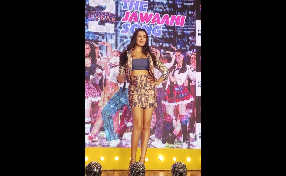 Student of the Year 2 marks the Bollywood debut of Tara Sutaria (in picture) and Ananya Panday. Firstpost/Simran Singh