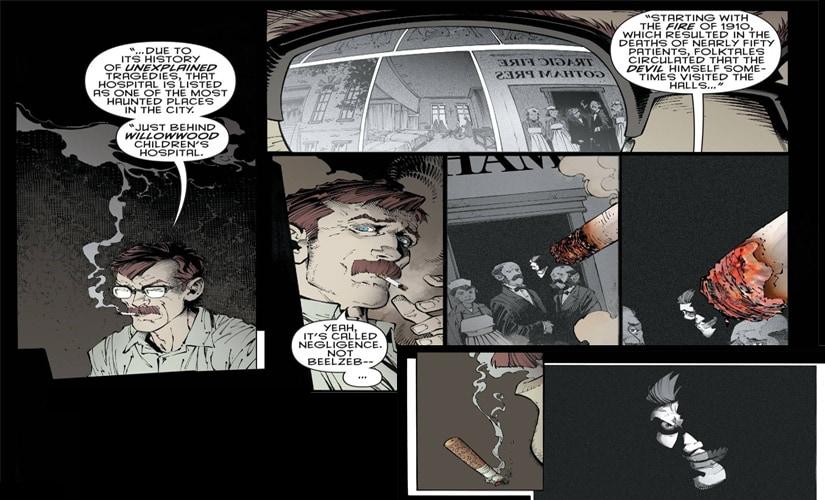 Perhaps he comes from a long line of vicious lunatics?   DC comics