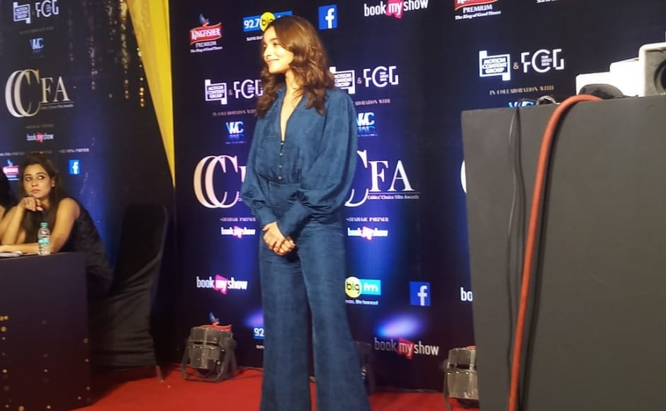 Alia Bhatt attended the first-ever Critics Choice Film Awards in Mumbai