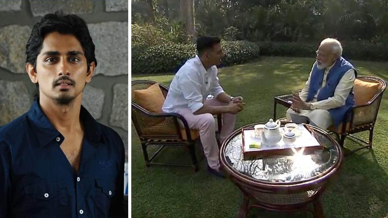 Siddharth takes dig at Akshay Kumar, calls him an 'underrated villain' following interview with PM Narendra Modi
