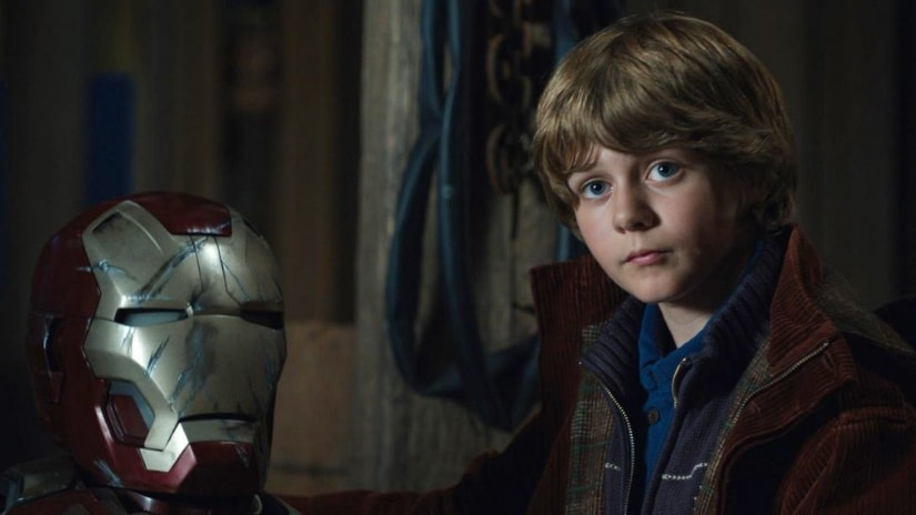 Ty Simpkins in Iron Man 3. Image from Twitter