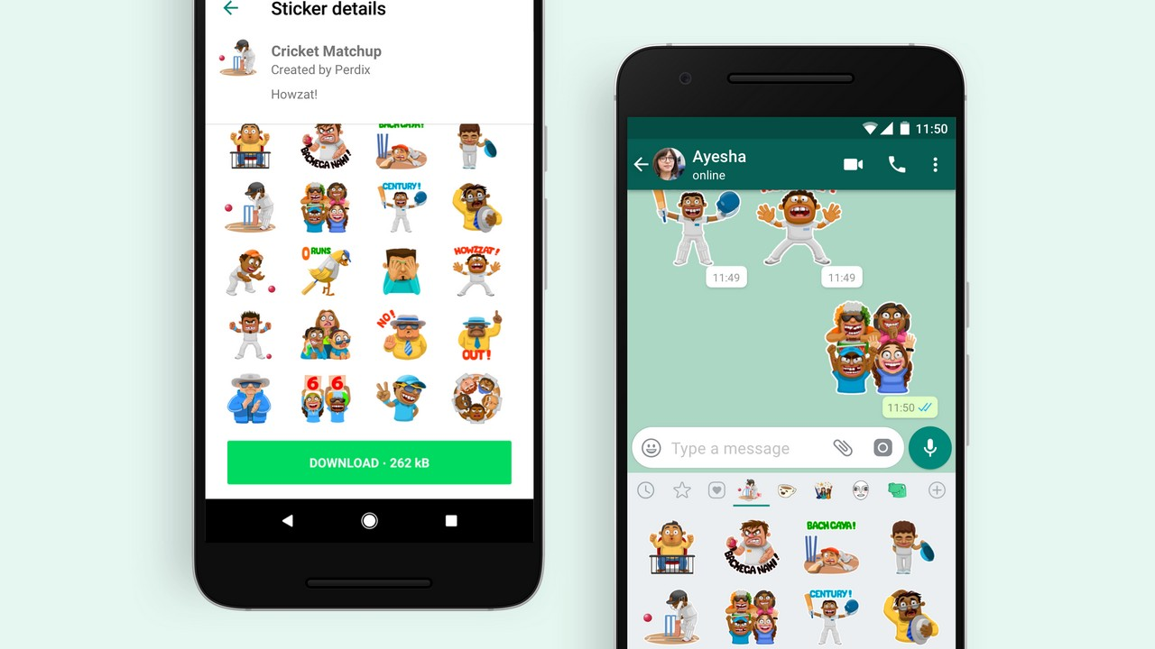 WhatsApp introduces cricket-themed stickers: Heres how to download them