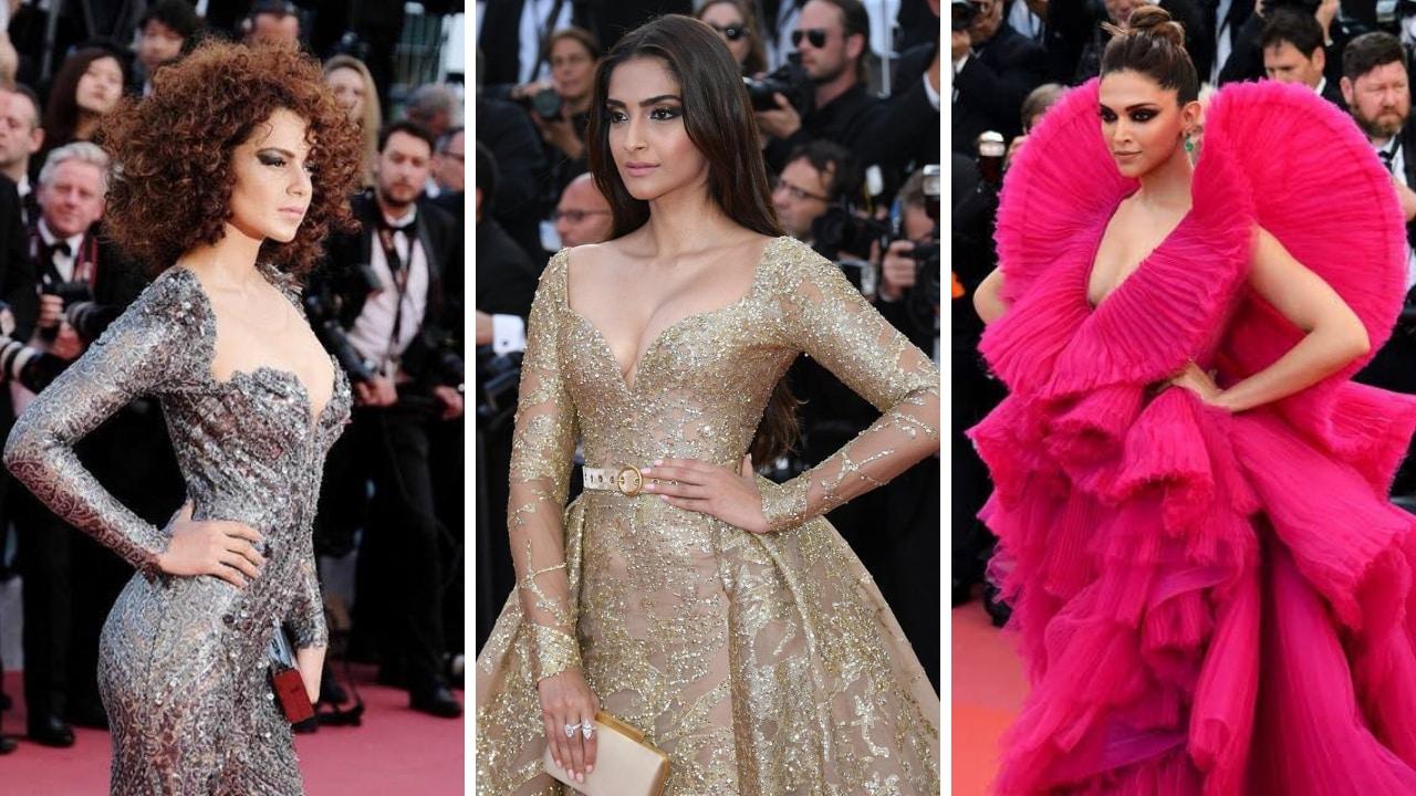 Cannes 2019: Kangana Ranaut, Sonam Kapoor, Deepika ...
