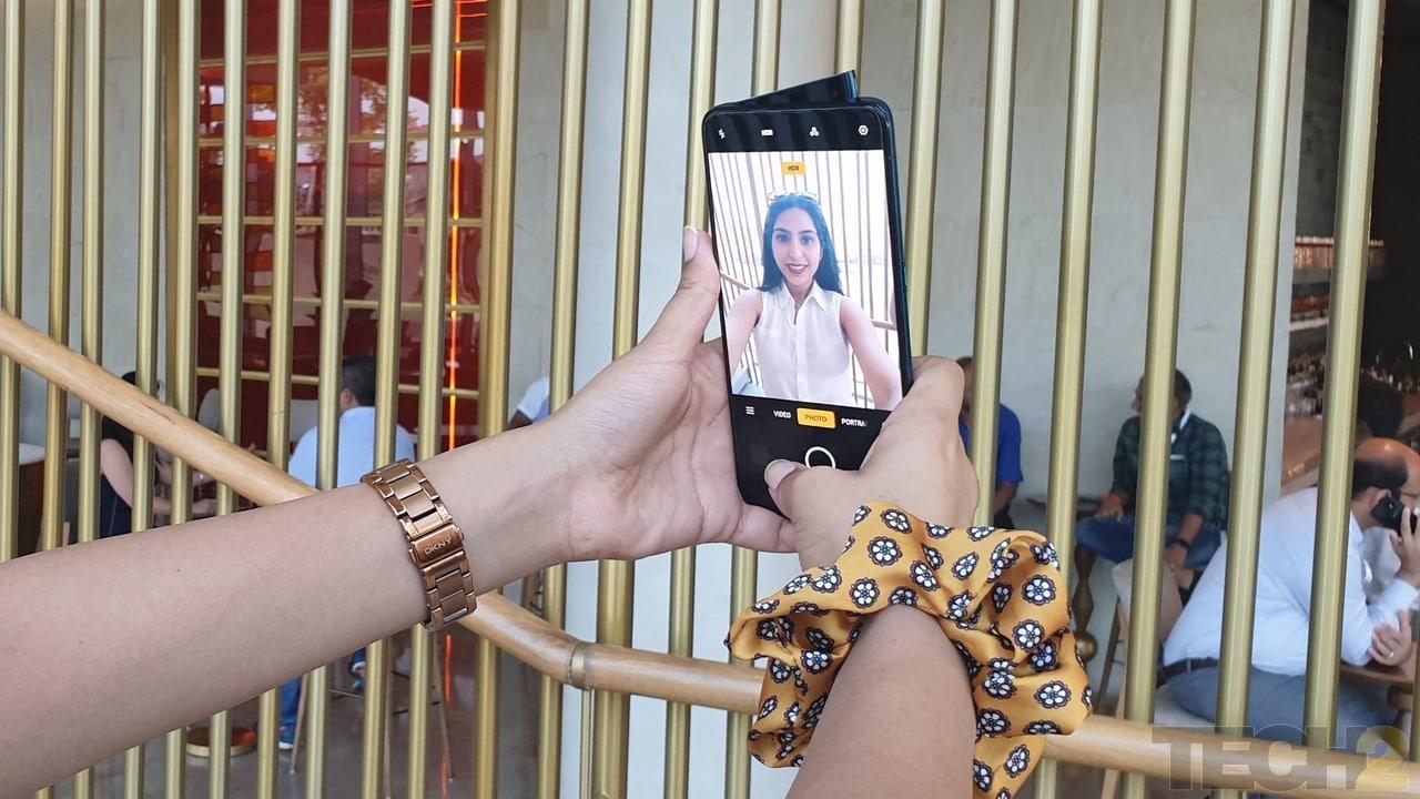 Oppo Reno 10X Zoom features a 16 MP selfie camera. Image: tech2/Nandini Yadav