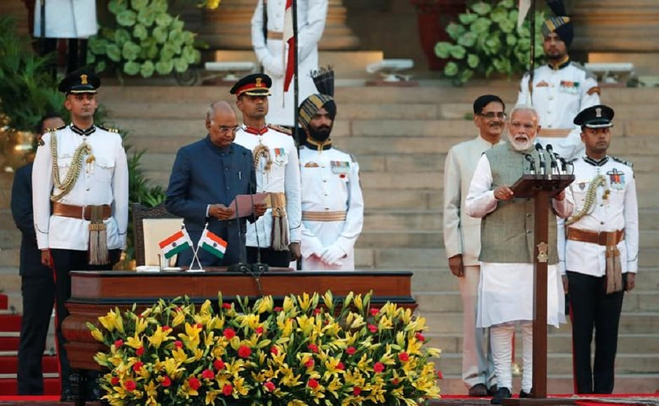 Narendra Modi govt 2.0 takes oath of office at Rashtrapati Bhavan; Amit Shah gets home ministry, Rajnath Singh bags defence