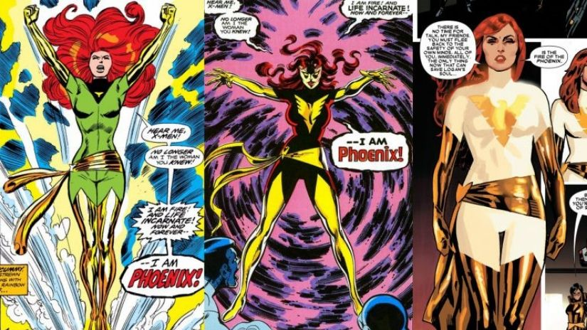 Jean Grey as portrayed ion the comics
