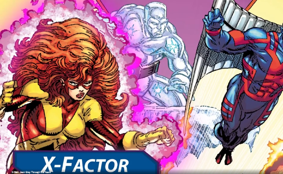 Jean Grey's returned to the X-Men, after she was believed to be dead, but the regrouped X-Men were now called X-Factor. Marvel