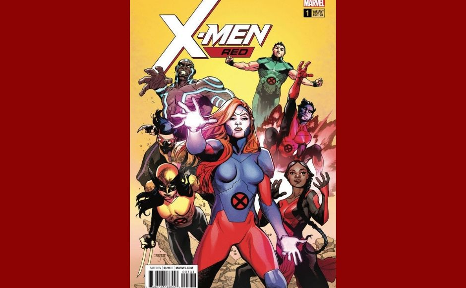 Jean Grey leads the team of X-Men in the ongoing X-Men Red. Marvel'